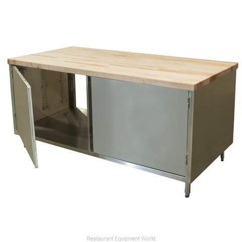 BK Resources CMT-3072H2 Work Table, Wood Top
