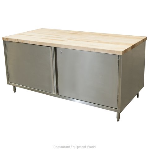 BK Resources CMT-3072HL Work Table, Wood Top