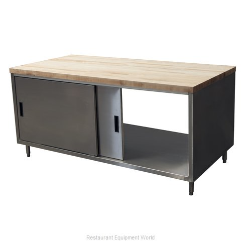 BK Resources CMT-3072S2 Work Table, Wood Top