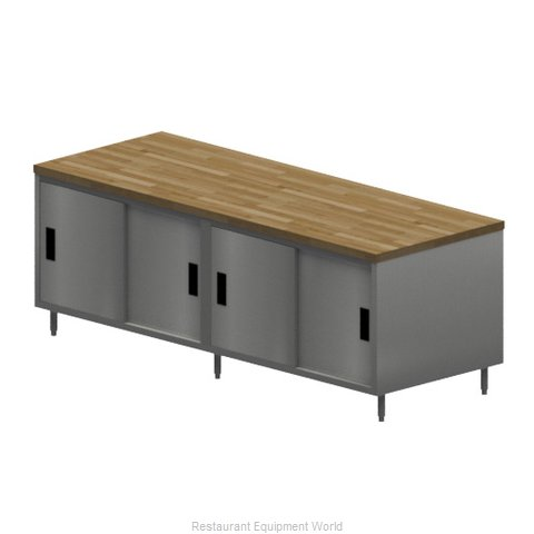 BK Resources CMT-3096S2 Work Table, Wood Top