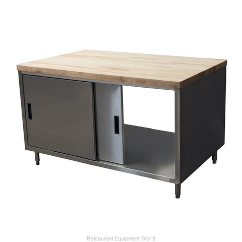 BK Resources CMT-3648S2 Work Table, Wood Top