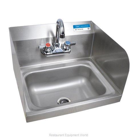 BK Resources CP-2W-1410-SS-PG Sink, Hand