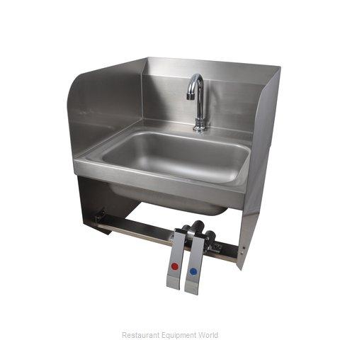 BK Resources CP-D1410SS-KV-PG Sink, Hand
