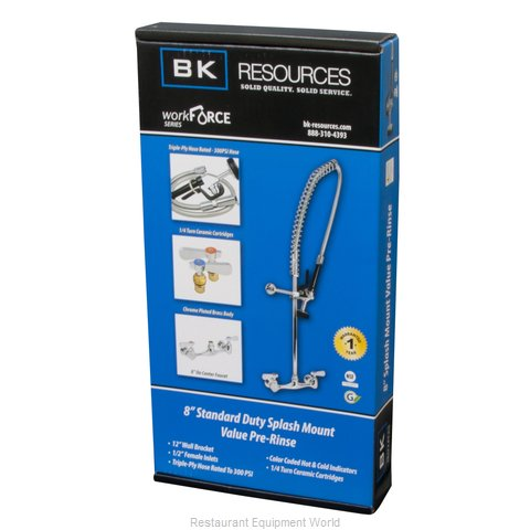 BK Resources CP-VSMPR-WB-G Pre-Rinse Faucet Assembly