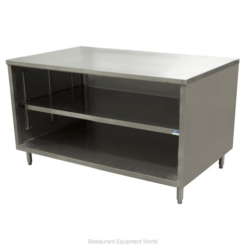 BK Resources CST-2448 Work Table, Cabinet Base Open Front
