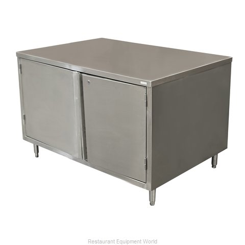 BK Resources CST-2460H Work Table, Cabinet Base Hinged Doors