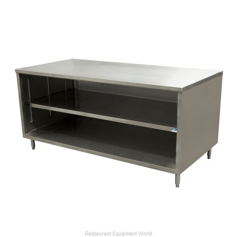 BK Resources CST-3672 Work Table, Cabinet Base Open Front