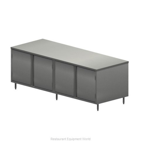 BK Resources CST-3696H Work Table, Cabinet Base Hinged Doors