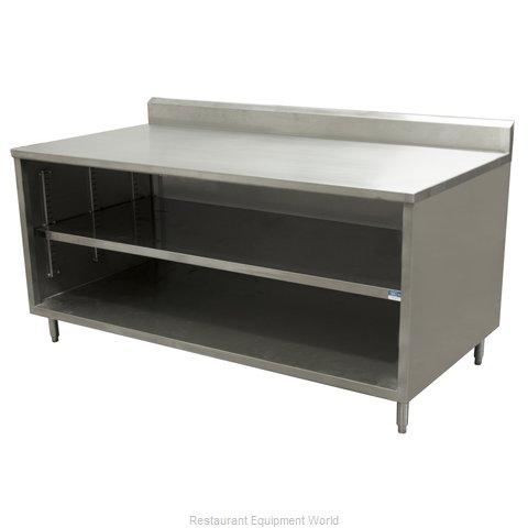 BK Resources CSTR5-2472 Work Table, Cabinet Base Open Front