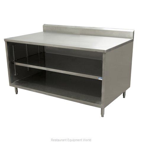 BK Resources CSTR5-3018 Work Table, Cabinet Base Open Front