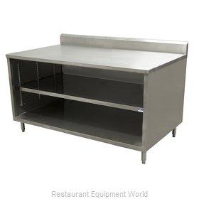 BK Resources CSTR5-3648 Work Table, Cabinet Base Open Front
