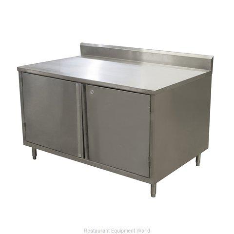 BK Resources CSTR5-3648HL Work Table, Cabinet Base Hinged Doors