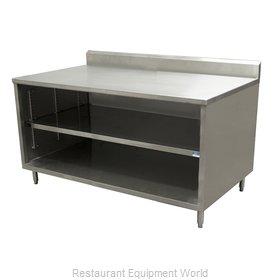 BK Resources CSTR5-3660 Work Table, Cabinet Base Open Front