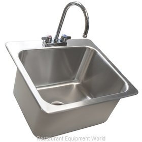 BK Resources DDI-20161224-P-G Sink, Drop-In