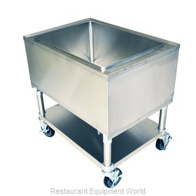 BK Resources MIB-2421 Ice Bin / Ice Caddy , Mobile