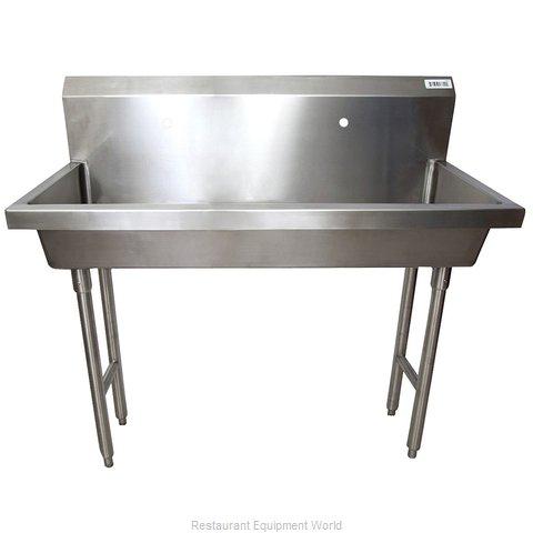 BK Resources MSHS-48F1 Sink, Hand