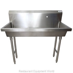 BK Resources MSHS-48F1 Sink, Hand