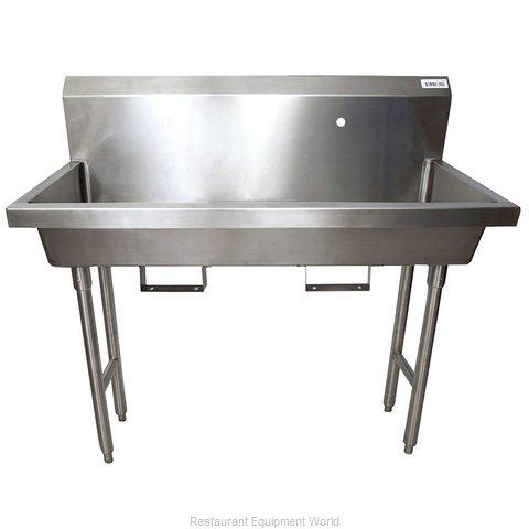 BK Resources MSHS-48F1B Sink, Hand