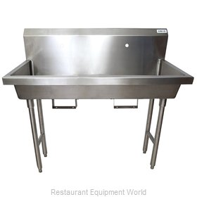 BK Resources MSHS-48F1B Sink, Hand