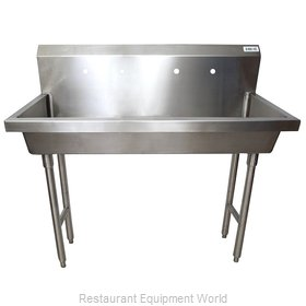 BK Resources MSHS-48F2 Sink, Hand