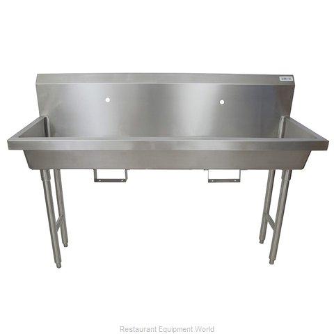 BK Resources MSHS-60F1B Sink, Hand