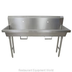 BK Resources MSHS-60F1B Sink, Hand