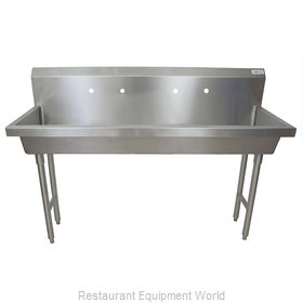 BK Resources MSHS-60F2 Sink, Hand