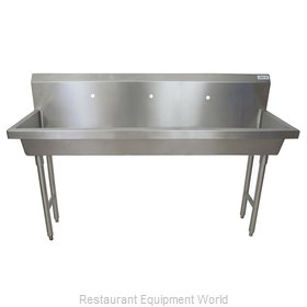 BK Resources MSHS-72F1 Sink, Hand