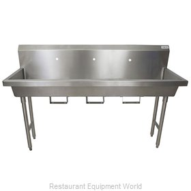 BK Resources MSHS-72F1B Sink, Hand