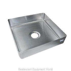 BK Resources SB-16-2020-5 Sink Bowl, Weld-In / Undermount