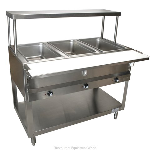 BK Resources STE-4-OSS Overshelf, Table-Mounted