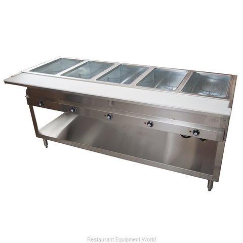 BK Resources STESW-5-240 Serving Counter, Hot Food, Electric