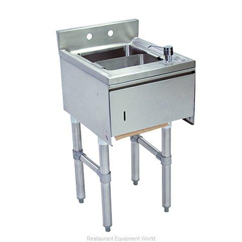 BK Resources UB4-18-1012HST-12-P-G Underbar Sink Units
