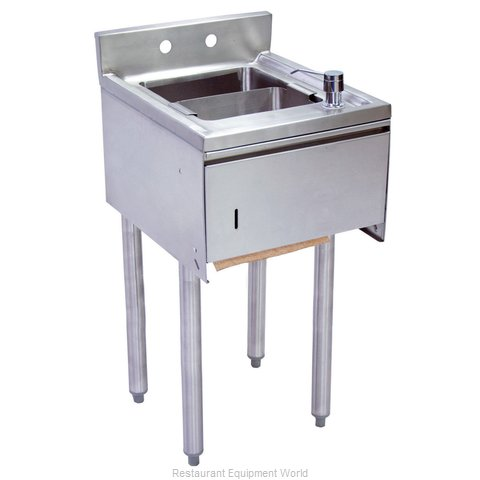 BK Resources UB4-18-1012HST-12 Underbar Sink Units