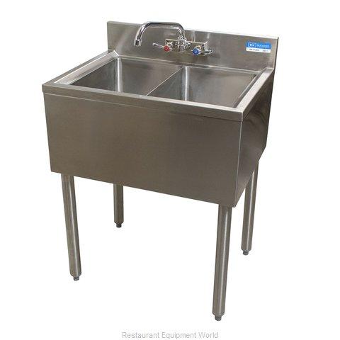 BK Resources UB4-18-224S Underbar Sink Units