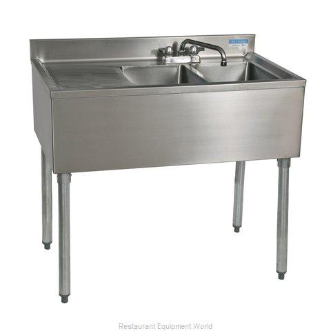 BK Resources UB4-18-236LS Underbar Sink Units