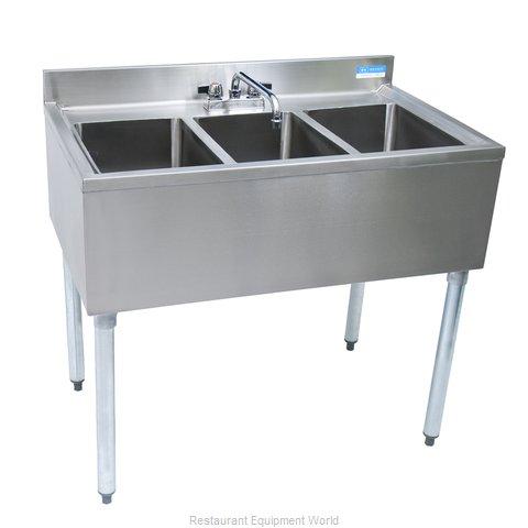 BK Resources UB4-18-336S Underbar Sink Units