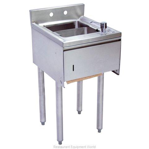 BK Resources UB4-21-1012HST-15 Underbar Sink Units
