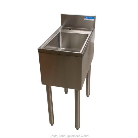 BK Resources UB4-21-1014HSS12 Underbar Sink Units