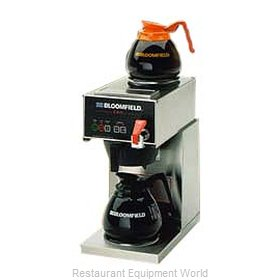 Bloomfield 1040D2F Coffee Brewer for Glass Decanters