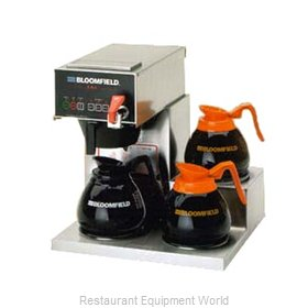 Bloomfield 1072D3F-120V Coffee Brewer for Glass Decanters