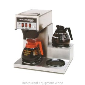 Bloomfield 8571-D3 Coffee Brewer for Glass Decanters