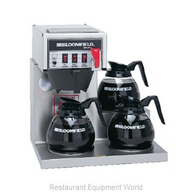Bloomfield 8574D3F Coffee Brewer for Glass Decanters