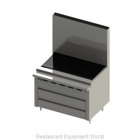 Blodgett BFLH-04R-B-72 Equipment Stand, Refrigerated / Freezer Base