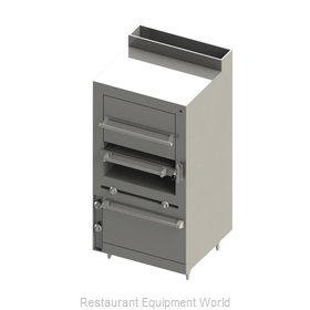Blodgett BMHBI-36 Broiler, Deck-Type, Gas