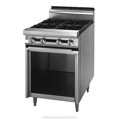 Blodgett BP-2 Range 18 2 open burners