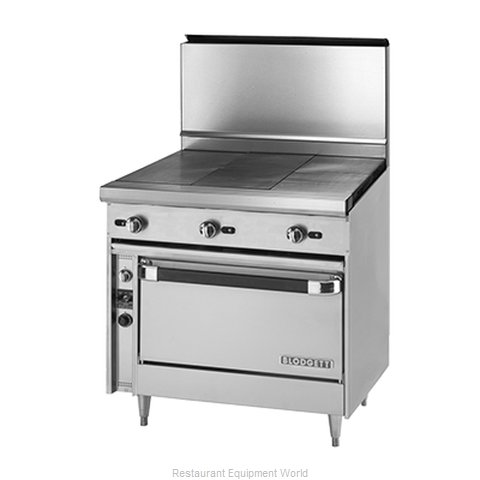 Blodgett BP-3HT-36 Hot Top Gas Heavy Duty Range