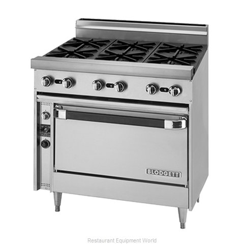 Blodgett BP-6-36 Range 36 6 open burners