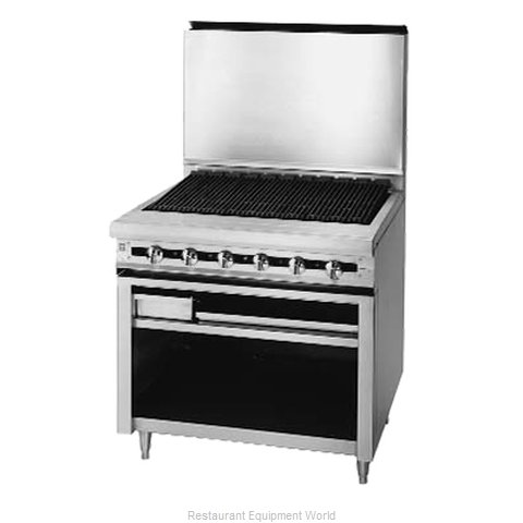 Blodgett BP-72B Range Heavy Duty Gas Charbroiler (Magnified)
