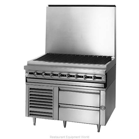 Blodgett BPRLH-02S-T-48 Refrigerated Counter Griddle Stand